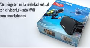 Nuevas gafas Lakento MVR – Peliculas3D en tu móvil!